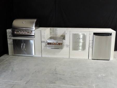 outdoor kitchen frames chalkboard designs are spicing up angie s list modular covered with cement board