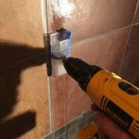 How to Drill Holes in Porcelain Bathroom Tile
