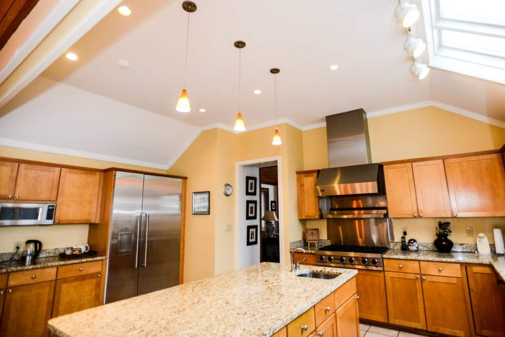 kitchen lights fixtures sears cabinets light angie s list modern
