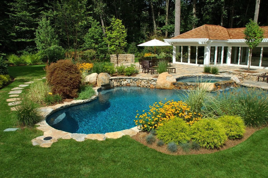 pool landscaping ideas angie's