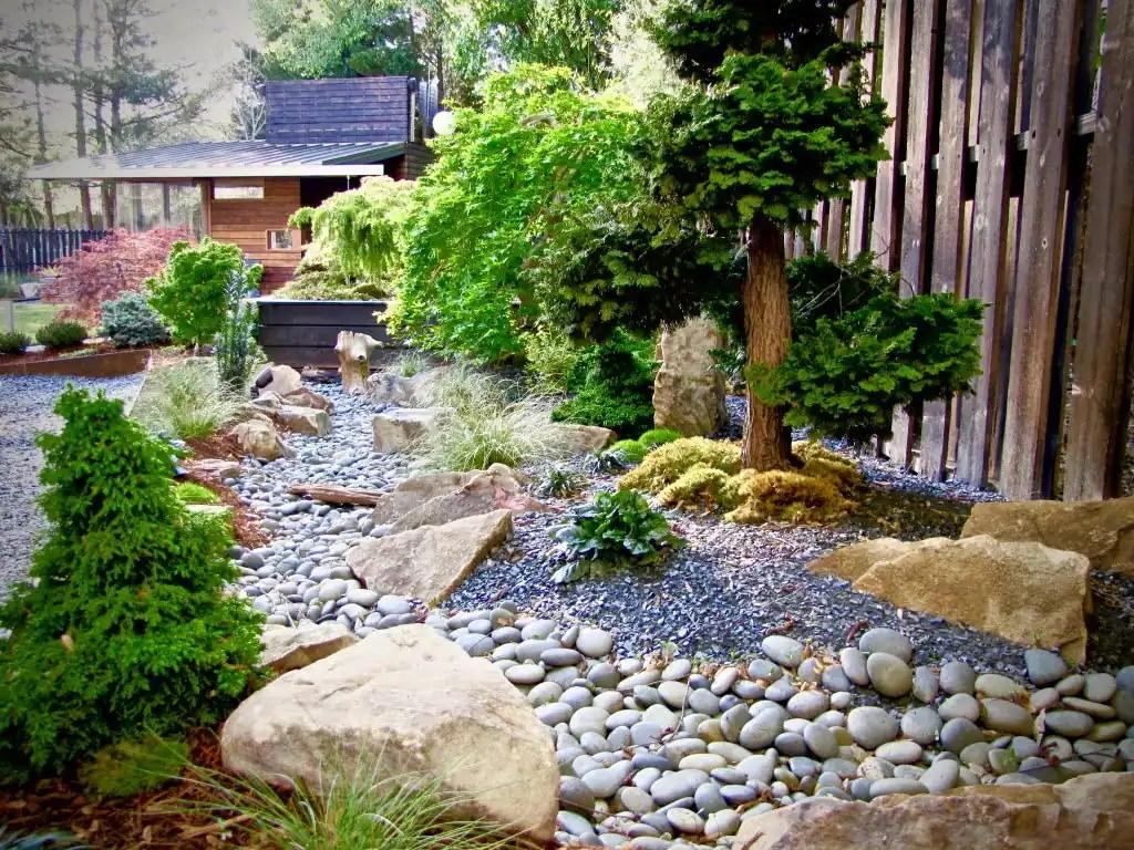 ideas creating rock garden