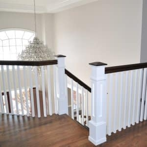 How To Refinish Indoor Stair Railings Angie S List | Cost To Refinish Wood Railing | Stair Treads | Interior | Gel Stain | Paint | Balusters
