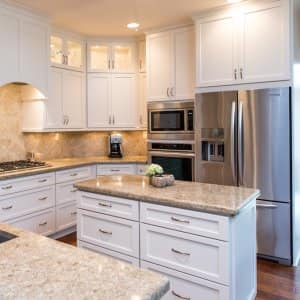 kitchen cabinet hardware outdoor kitchens san antonio how to replace angie s list white cabinets