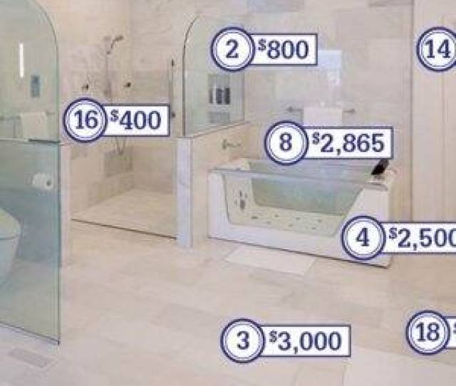 A Price Breakdown For This 68000 Bathroom Remodeling Project