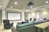 Ceiling Design Integral to a Remodeled Basement
