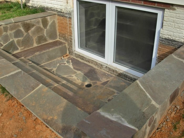 How Much Does An Egress Window Cost Angie S List | Precast Concrete Basement Steps Near Me | Basement Walls | Egress Window | Finished Basement | Prefab Concrete | Stair Treads