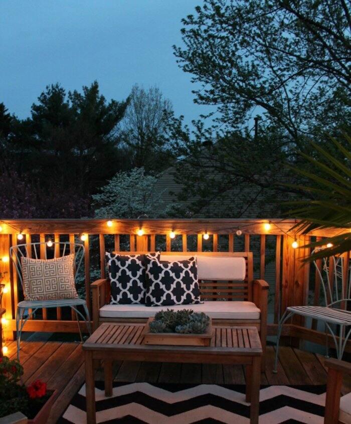decorate small patio