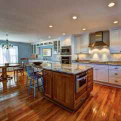 Wood Floors In Kitchen Buffet Ikea What Is The Best Flooring For A Angie S List Large With Island Table