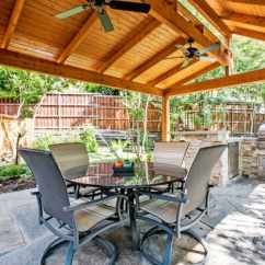 Outdoor Kitchen Cost Lamps 5 Things To Consider Before Building An Angie S List Elaborate Kitchens With All Of Amenities Can More Than 75 000 Photo Courtesy Dfw Improved