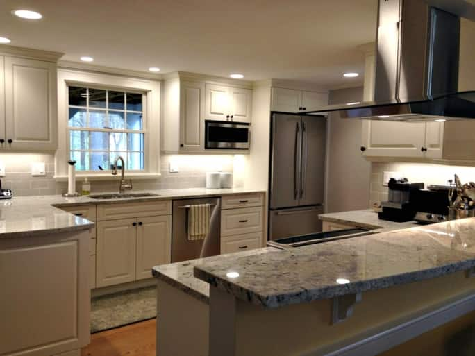 kitchen cabnits undermount sinks stainless steel wood cabinets types costs and installation angie s list remodel lighting island hood