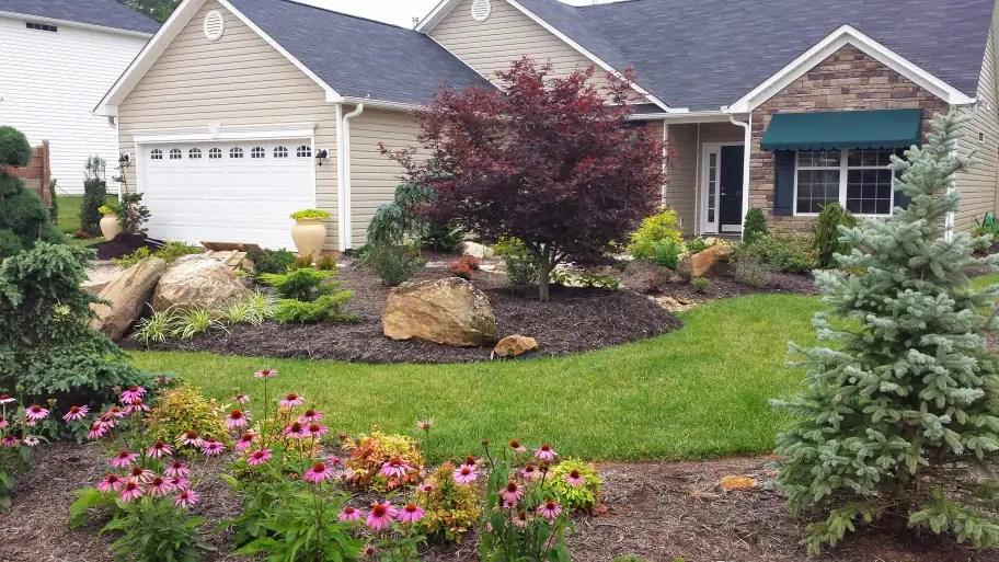 creating -maintenance landscaping