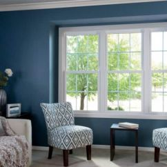 Living Room Window Sofa Small How To Make Windows More Energy Efficient Angie S List Blue Walls White Couch