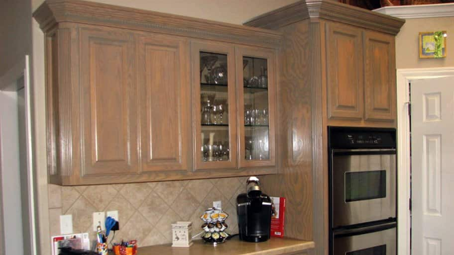 kitchen cabinet cost types of flooring pros and cons how much does it to stain cabinets angie s list staining