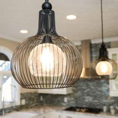Kitchen Bulbs Island Table For Small Why Do Light Burn Out Angie S List Hanging Pendant Lights With Cage In