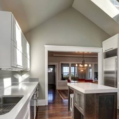 Kitchen Skylights Craftsman Style Cabinets Lighting Matchups Blending Artificial With Newly Remodeled Skylight