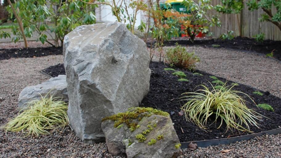boulders upgrade landscape