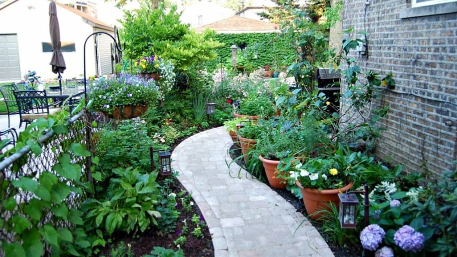 How To Landscape A Small Yard Or Patio