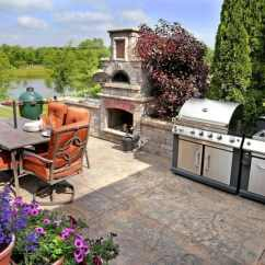 How Much Does An Outdoor Kitchen Cost Two Tier Drawer Organizer Living Angie S List