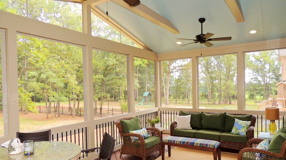 sunroom living room 1900 choosing between a or enclosed porch angie s list