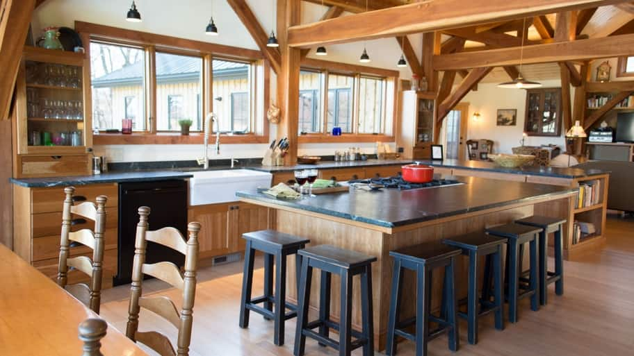 How Much Do Timber Frame Homes Cost To Build? Angie's List