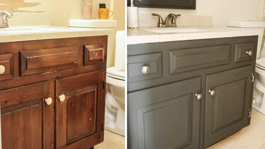 How To Paint A Bathroom Vanity Angie S List
