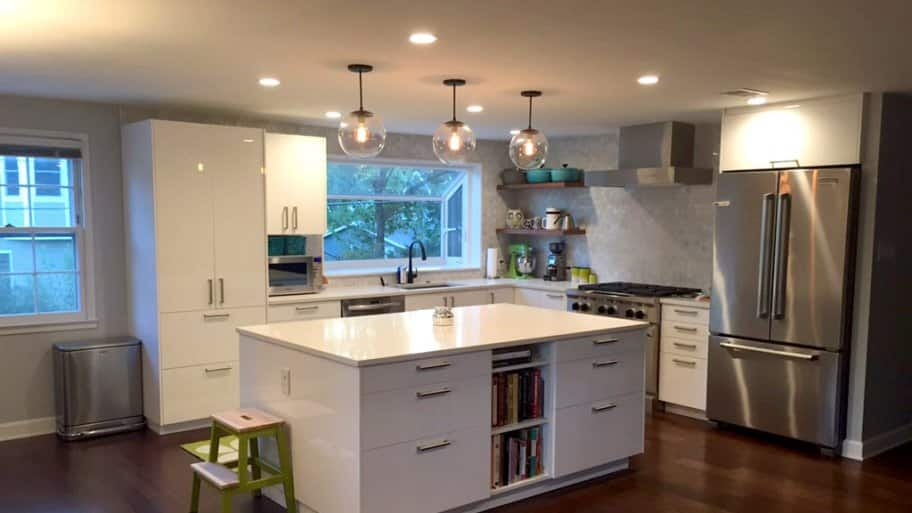 white kitchen cabinets ideas stainless steel trash can cabinet 5 diy upgrades angie s list upgrade