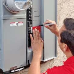 Electrical Panel Hazards E30 Headlight Switch Wiring Diagram Does Your System Need Updating Angie S List The Most Important Benefit Of Upgrading Is That Home Will Be Protected From Fire Caused By Overloaded Circuits