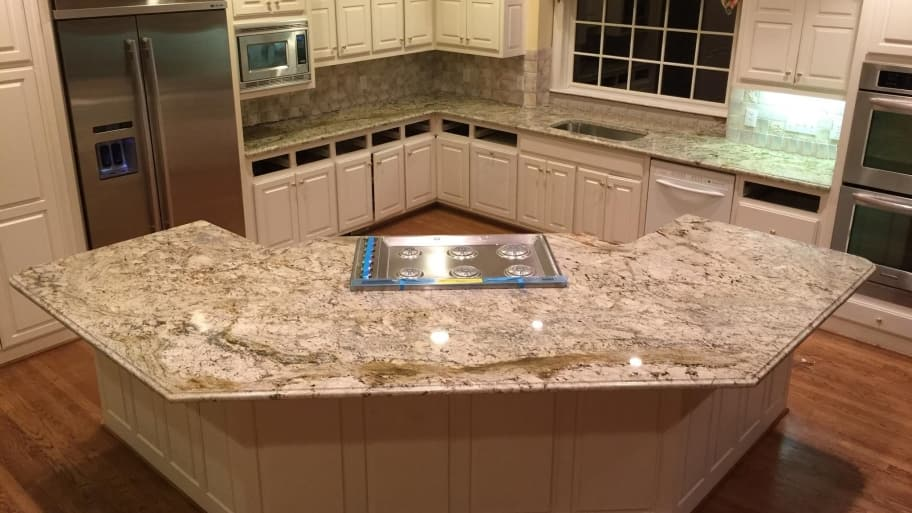 kitchen counter chrome table what granite color do i choose angie s list countertop