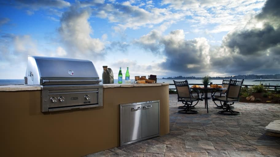 outdoor kitchen cost kitchens kits how much does an angie s list