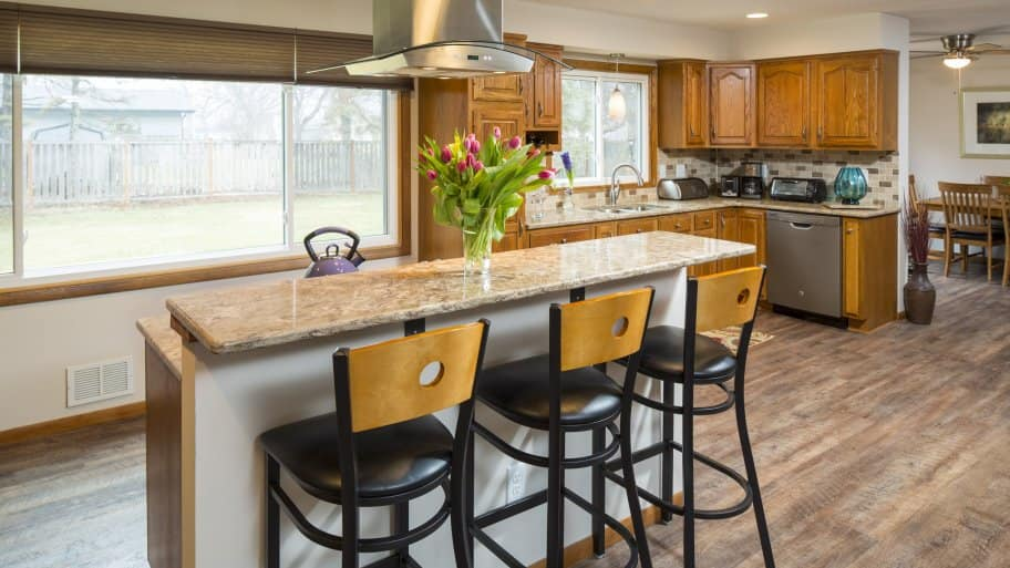 pictures of kitchen islands white corian countertops best types angie s list what type island is for you