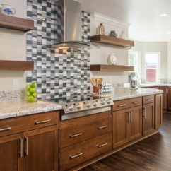 Kitchen Upgrade Hammered Copper Backsplash Is It Smart To Finance A Home Remodel Angie S List Luxe Update Wood Cabinets Marble Counters Tile Design