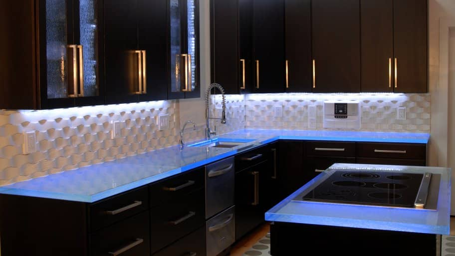 kitchen task lighting aid counter depth refrigerator should i use in my angie s list