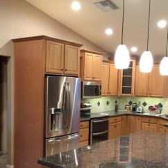 Led Kitchen Lights 4 Piece Appliance Package Is It Worth To Switch Lighting Angie S List Pendant And Cabinet In