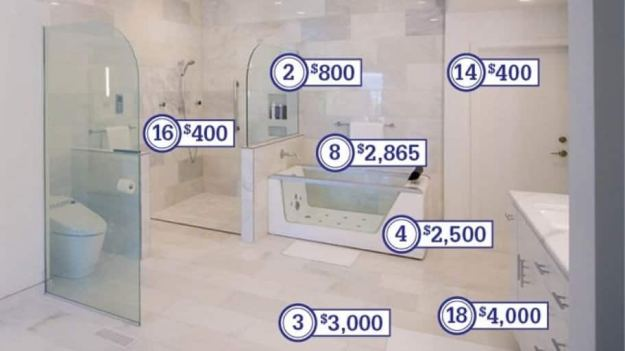 how much does a master bathroom remodel cost? | angie's list