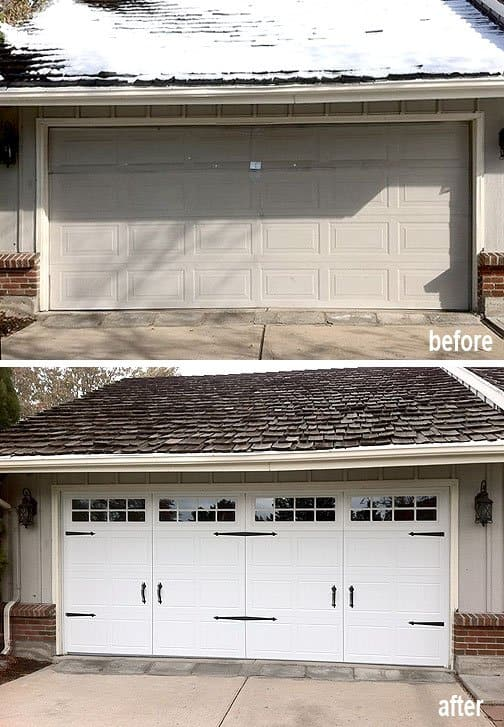 Photos Before  After  Garage Doors  Angies List