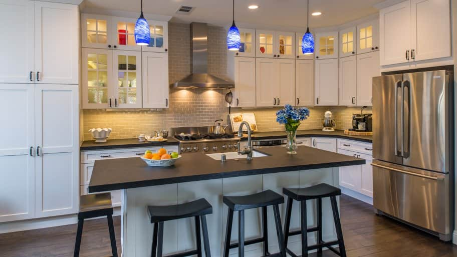 kitchen cabinet images breakfast nook create more storage space angie s list