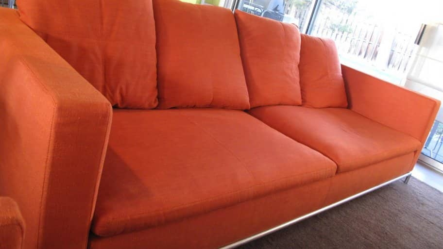 Is It Worth It To Reupholster Old List A Red Couch In Living Room