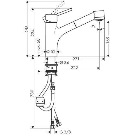 Diametre Flexible Robinet Cuisine