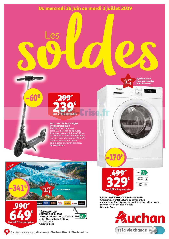 Catalogue Auchan 26 Juin 2019 : catalogue, auchan, AUCHAN, Nouveau, Catalogue, Juillet, Disponible!, Manquez, Réductions, Catalogue.