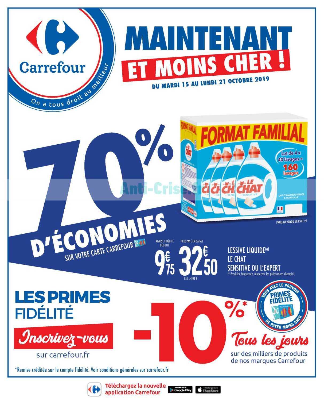 Carrefour Catalogue Octobre 2019 : carrefour, catalogue, octobre, CARREFOUR, Nouveau, Catalogue, Octobre, Disponible!, Découvrez, Plans, Dernier, Catalogue.