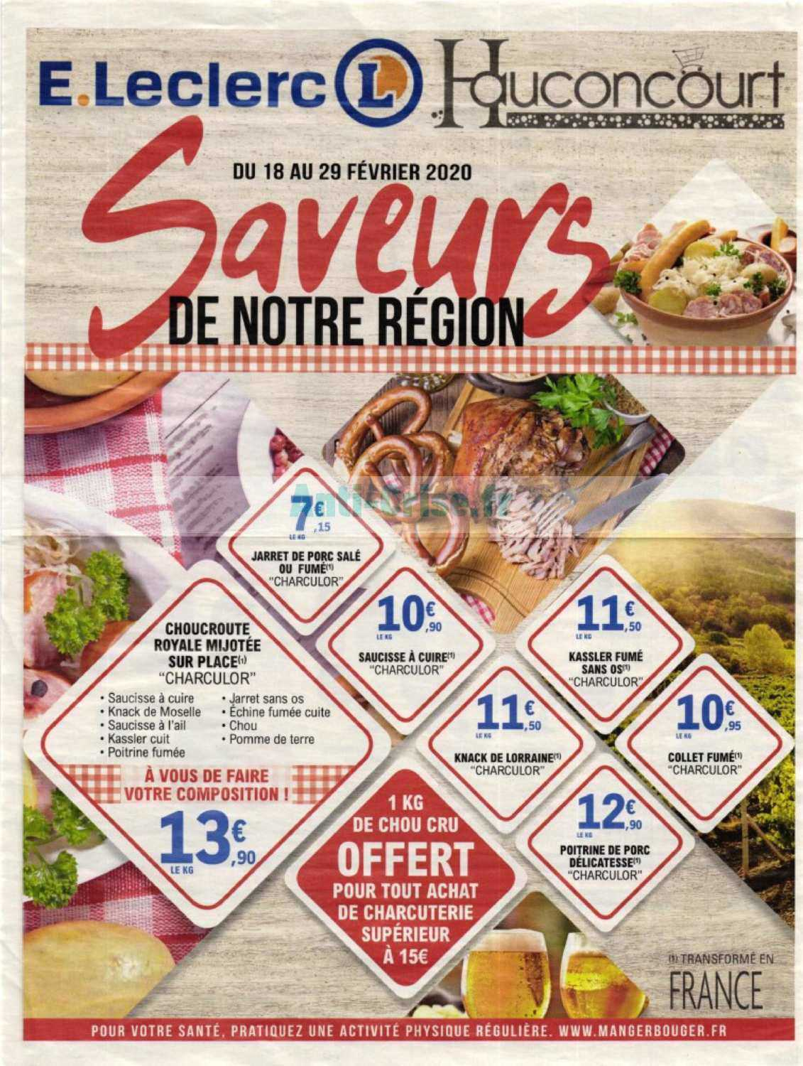 leclerc local le nouveau catalogue du