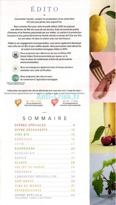 Foire Aux Vins Lidl 2020 : foire, Nouveau, Catalogue, Septembre, Disponible!, Manquez, Réductions, Catalogue.