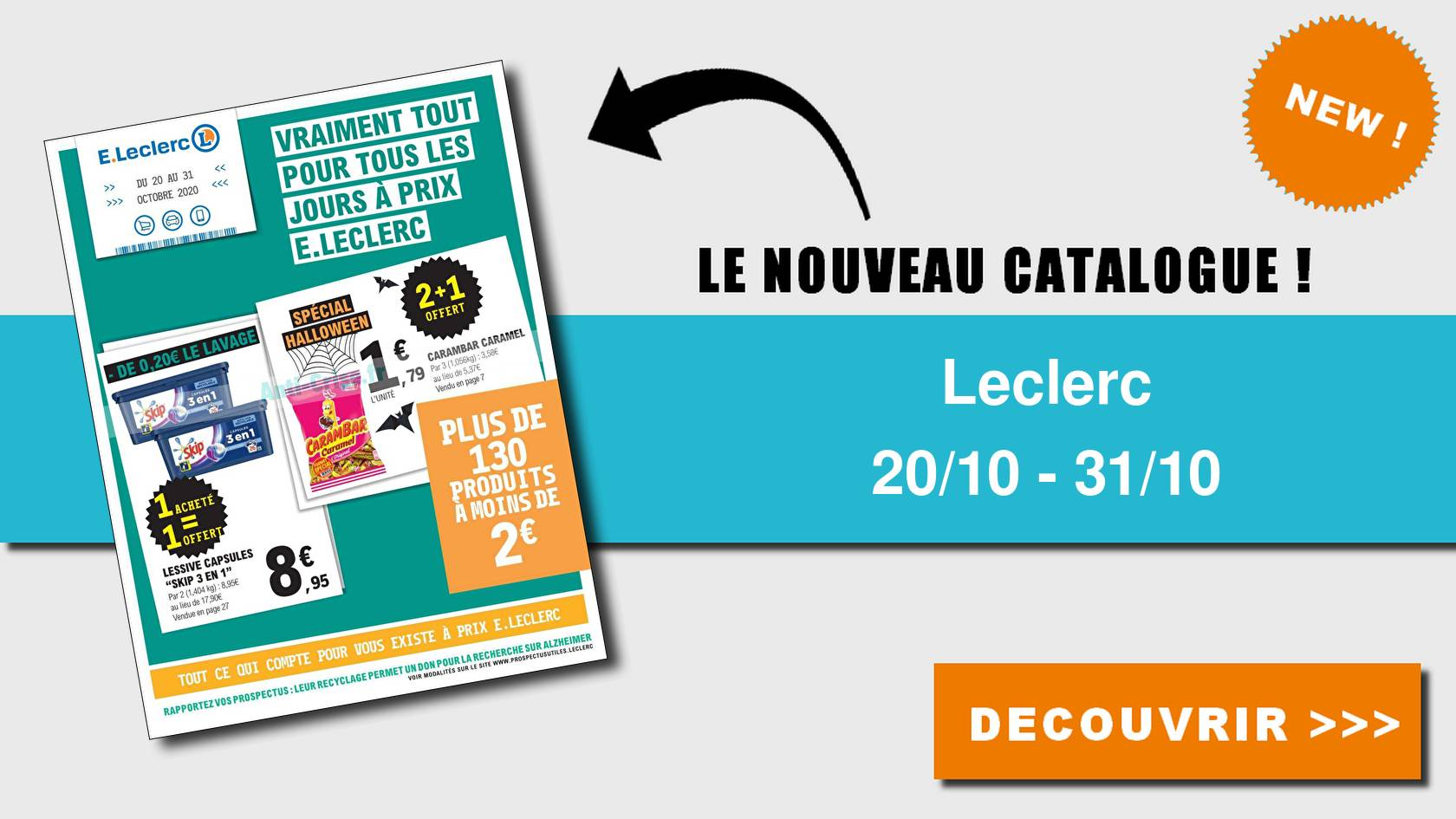 catalogue du 20 au 31 octobre 2020