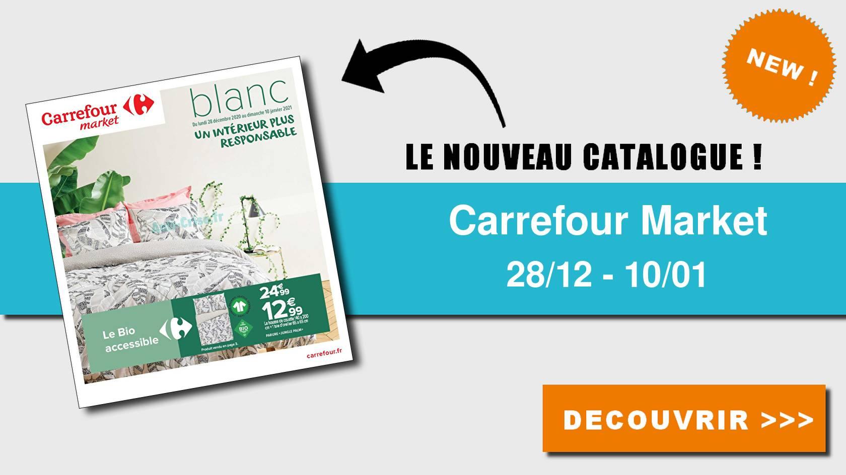 carrefour market le nouveau catalogue