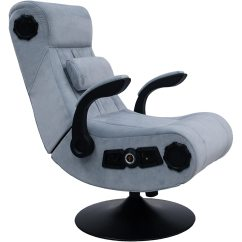 Rocker Es Game Chair Rail At Lowes 5107701 X Deluxe 4 1 Chenille Gaming Ao Com Wireless Grey