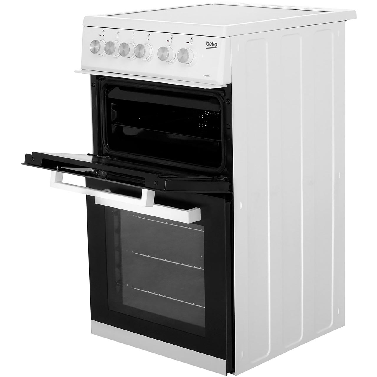 Beko Bdc5422aw Freestanding Electric Cooker White
