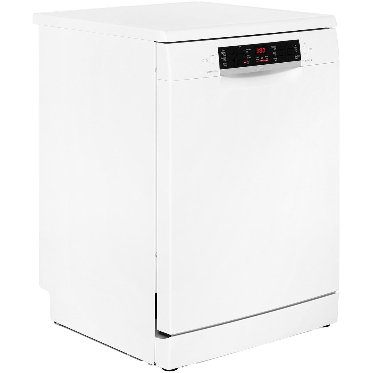 Bosch SMS46MW01G Serie 4 A++ Dishwasher Full Size 60cm 14