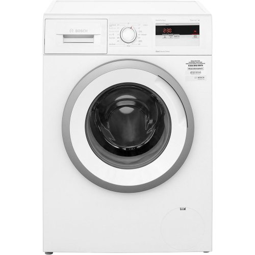 small resolution of  bosch serie 4 wan28050gb 7kg washing machine with 1400 rpm white a rated