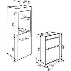 Smeg Double Oven Wiring Diagram Redline Brake Controller Dosf44x Ss Electric Ao Com