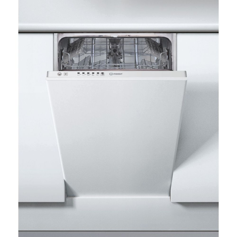 medium resolution of  indesit dsie2b19uk fully integrated slimline dishwasher white control panel with fixed door fixing kit